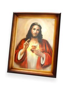 Obraz Serce Jezusa - 47x37 - 2844809088