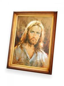 Obraz Jezus Chrystus (portret) - 47x37 - 2844809090