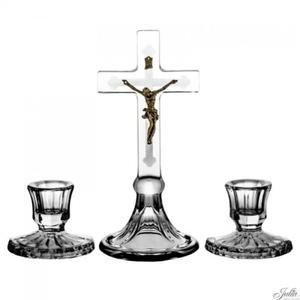 Komplet kolędowy kryształowy - 20cm - 2844809171
