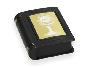Pudełko na różaniec w formie książeczki czarne - 2844809183
