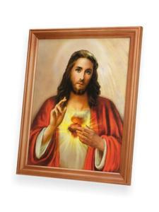 Obraz Serce Jezusa 27x23 - 2844809217