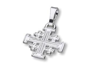 Krzyż Jerozolimski - srebrny 1,2g - 2844809271