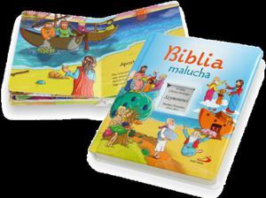 Książka z grawerem. Biblia malucha - 2825546461