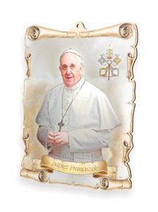Obrazek pastelowy - Papież Franciszek
