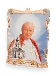 Obrazek pastelowy - Święty Jan Paweł II - 2844809384