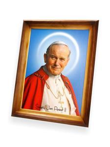 Obraz Święty Jan Paweł II - 47x37 - 2844809396