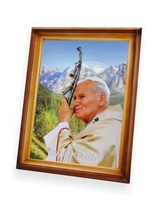 Obraz Święty Jan Paweł II - 47x37 - 2844809415