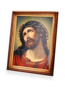 Obraz Jezus Chrystus z cierniem - 47x37 - 2844809438