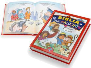 Biblia dla maluchów z grawerowanym imieniem dziecka - 2825546564