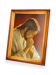 Obraz Jezus Chrystus w modlitwie - 47x37 - 2844809478
