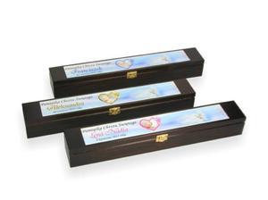 Drewniane pudełko na świecę ze zdjęciem - 2834664939