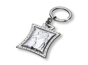 Brelok Święty Krzysztof (srebro, 925) - 2844809612