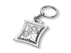Brelok Anioł Stróż (srebro, 925) - 2844809615