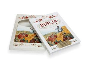 Biblia. Historia zbawienia w opowiadaniach z grawerem! - 2836075565