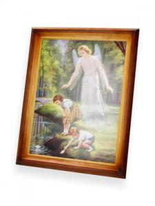 Obraz Dzieci nad strumykiem 47x37 - 2844809645