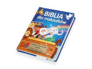 Książka z grawerem. Biblia dla maluszków - 2845474383