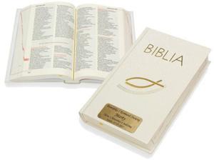 Biblia. Pamiątka I Komunii Świętej z Twoim grawerem! - 2847794892