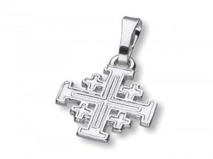 Krzyż Jerozolimski - srebrny 2,2g - 2858594459