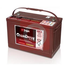 Akumulator Trojan OverDrive 12V 102Ah 730A CATERPILLAR AGM 31 - 2840784181