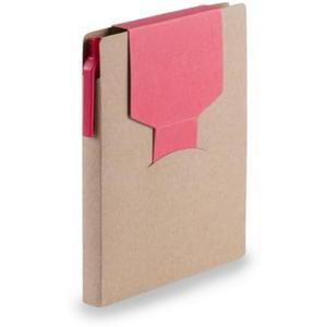 Notatnik, karteczki samoprzylepne, długopis - 2869841162