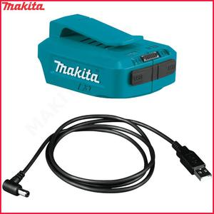 MAKITA 199010-3 + ADP05 kabel USB + adapter USB 5V 2x 2.1A (4.2A) LXT18V LXT 14,4V do lasera SK312GD SK209GD - 2883577405