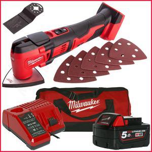 MILWAUKEE M18BMT-501B akumulatorowe kompaktowe narzędzie wielofunkcyjne Multitool 18V 5,0Ah Li-Ion - 2884401011