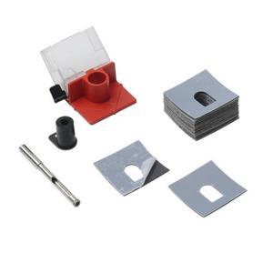 04928 zestaw prowadnica + wiertło Easy Gres fi8mm RUBI (wiertło diamentowe koronka) - 2832328926