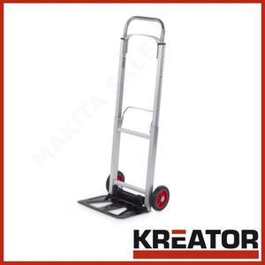 c25290686e043 KREATOR KRT670201 - wózek transportowy składany aluminium max. 90 kg -  2835786357