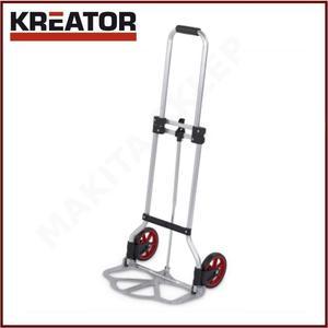 bca8ef6c106d9 KREATOR KRT670202 - wózek transportowy aluminiowy składany max. 45kg -  2835786358