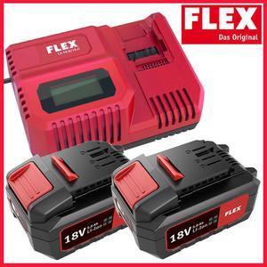 FLEX CA10.8/18.0 + 2x AP18.0/5.0 Szybka  - 2861465895