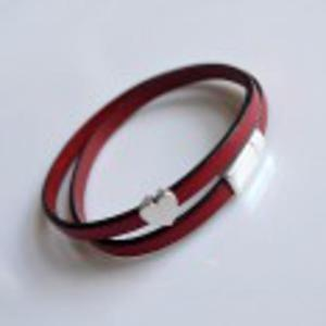 Czerwona skóra + serce - 2825530731