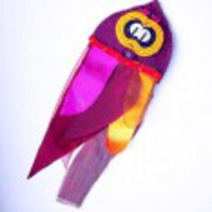 Sowa papugowa broszka - 2853755607
