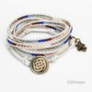 Bransoleta Boho Jeans - 2860707107