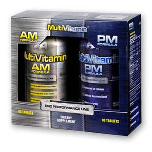 Fitness Authority - MULTIVITAMIN AM-PM FORMULA - 2x90tab - 2822986098