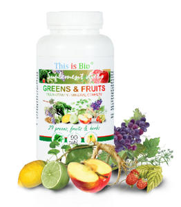 This is Bio GREENS & FRUITS 90tab - 2822985965