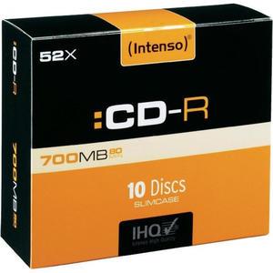 Płyta płyty Intenso CD-R 10szt. 700MB 52x 80min. - 2869315815