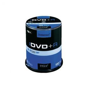 INTENSO DVD+R 4,7GB 16X PŁYTY PŁYTA 10 SZTUK CAKE - 2869318208