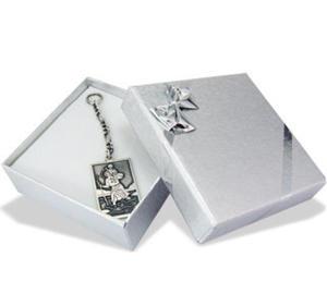 Brelok srebrny z wizerunkiem Św. Krzysztofa WEC-S-SW.KRZY-1M - 2824315236