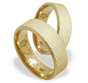 Zestaw - Pierścionek, kolczyki i wisiorek z żółtego złota z diamentami LP-6708Z-R-ZEST - 2824316438