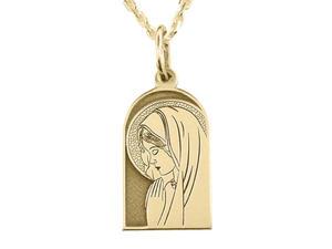 Medalik z żółtego złota WEC-Z-MED-MAD-3 - 2824315887