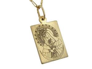Medalik z żółtego złota WEC-Z-MED-OSTRO-2 - 2824315896
