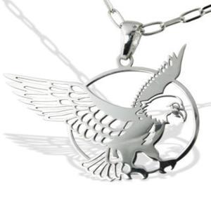 Wisiorek srebrny z Orłem- 1 - 2824316005