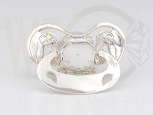 Smoczek srebrny słonie CO-S/SMO - 2824316258