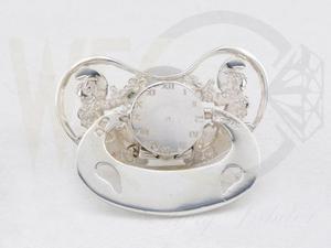 Smoczek srebrny Smurfy CO-S/SMO - 2824316259