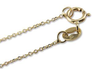 Naszyjnik ze złota - celebrytka ze znakiem nieskończoności -Model 20 - 2838734486