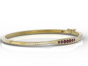 Komplet: pierścionek, kolczyki i zawieszka z żółtego i białego złota ze szmaragdem i diamentami JP-87ZB-ZEST - 2841311935