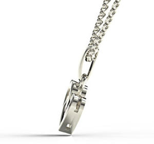 Wisiorek z białego złota z rubinem LPW-52B - 2824314652