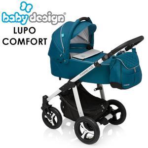 LUPO COMFORT Baby Design wózek 2w1 lub 3w1 z fotelikiem Baby design Lupo Comfort - 2873327145