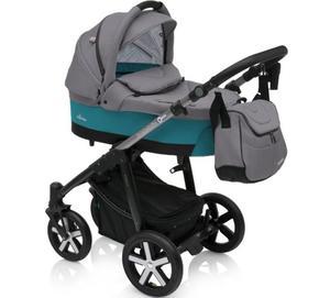 HUSKY 2018 Baby Design wózek 2w1 lub 3w1 z fotelikiem Baby Design Husky - 2873327146