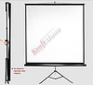 Ekran projekcyjny na statywie KraftMann Diploma Screen Pro 125 x 125 1:1 Matt White HD - 2862339111